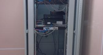 Монтаж структурированной кабельной системы в крупном офисе