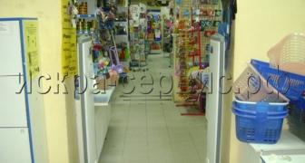 Установка СЗК в магазине Чёрный Кот