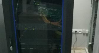 Демонтаж и монтаж системы видеонаблюдения.